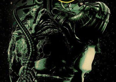 Carteles Aliens